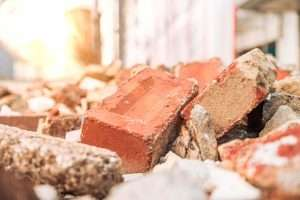 close-up-of-demolition-waste-and-bricks