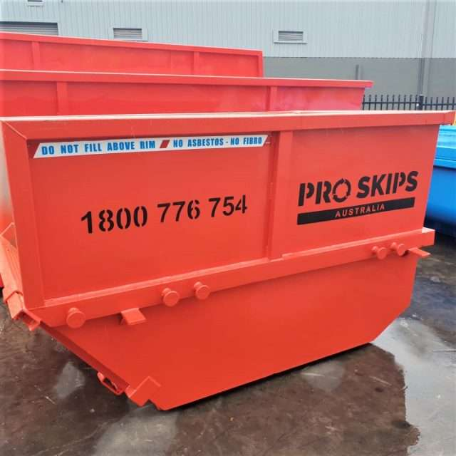 skip bin size Church Point