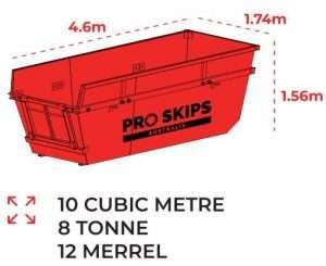 10 Cubic Metre Skip Bin Size Guide