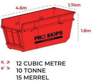 12 Cubic Metre Skip Bin Size Guide